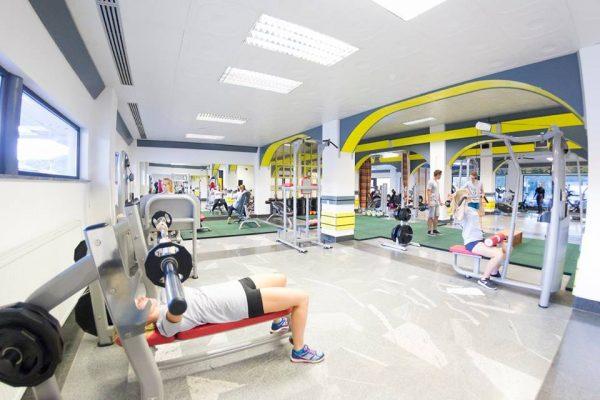 Hisa rekreacije - prostori za vadbo - fitnes
