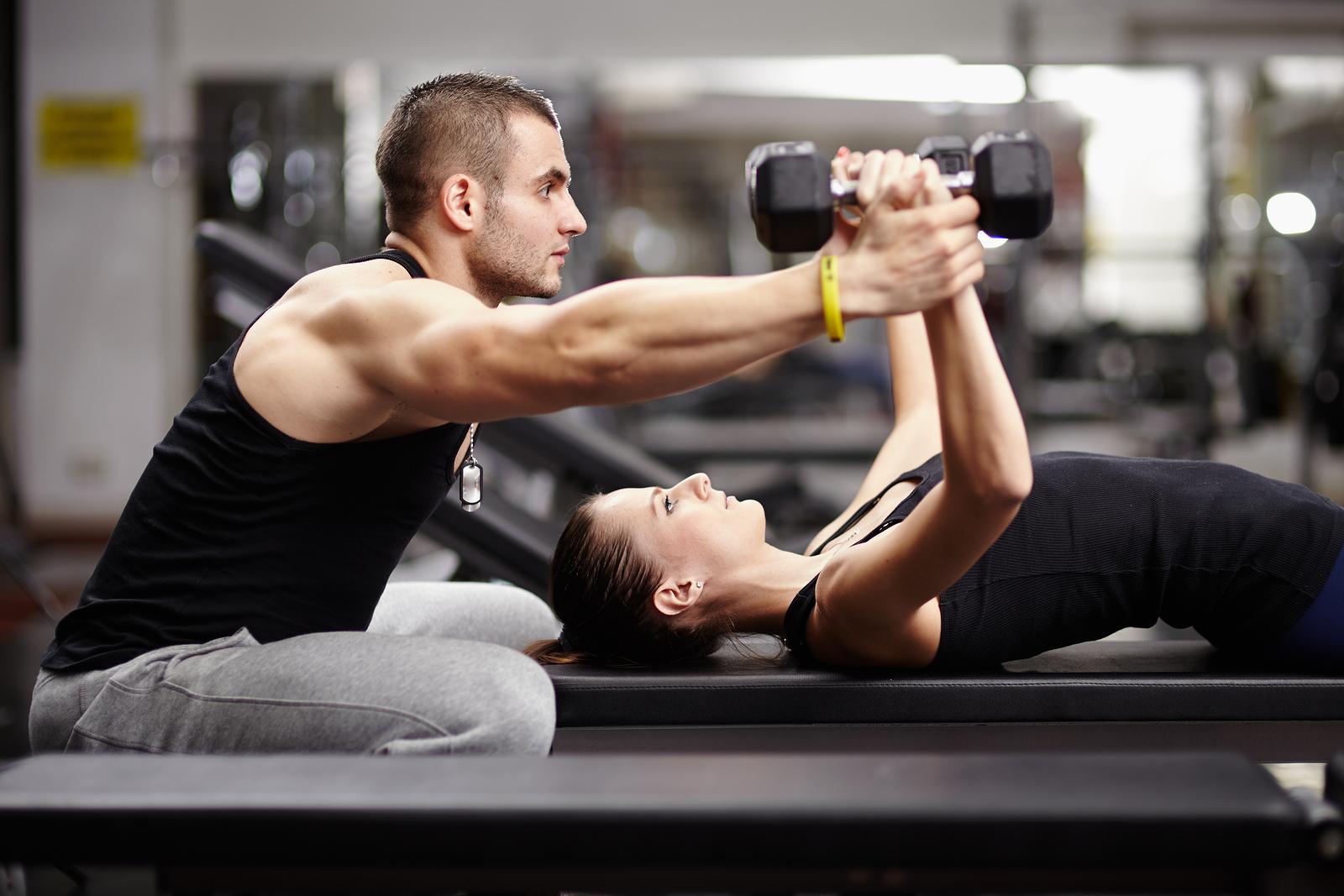 Program osebnega trenerstva - pomoc pri vadbi